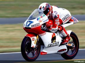 Stefan Bradl in action (125cc)