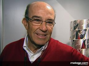 Dorna CEO Carmelo Ezpeleta on corner speed issue