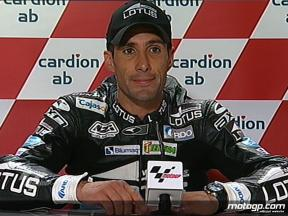 Alex Debon interview after race in Brno