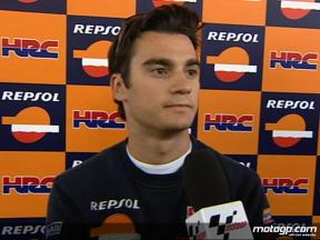 Pedrosa on tyre problems
