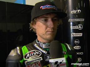 West on best ever MotoGP result