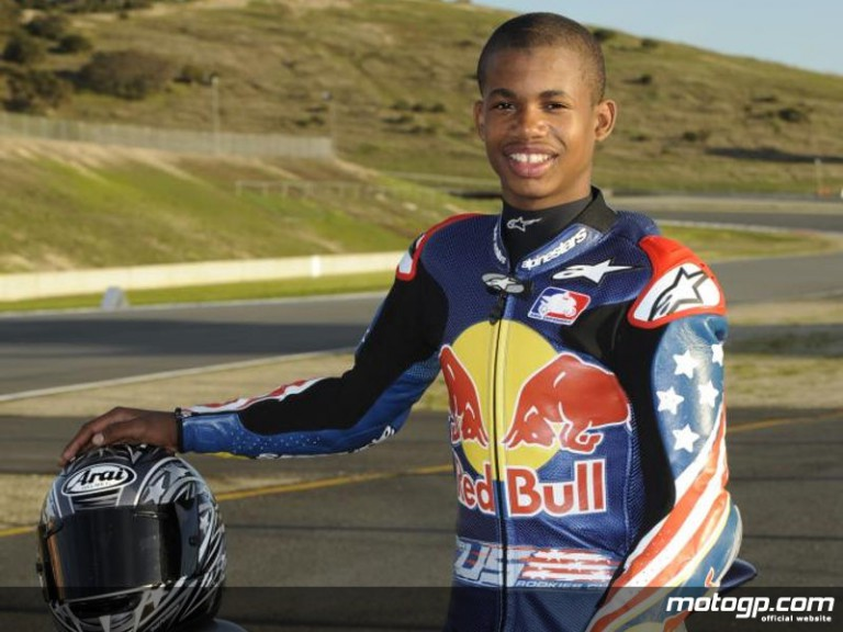 Red Bull AMA US Rookies Cup rider Toriano Wilson (Photo: Michael Troutman-Red Bull Photofiles)
