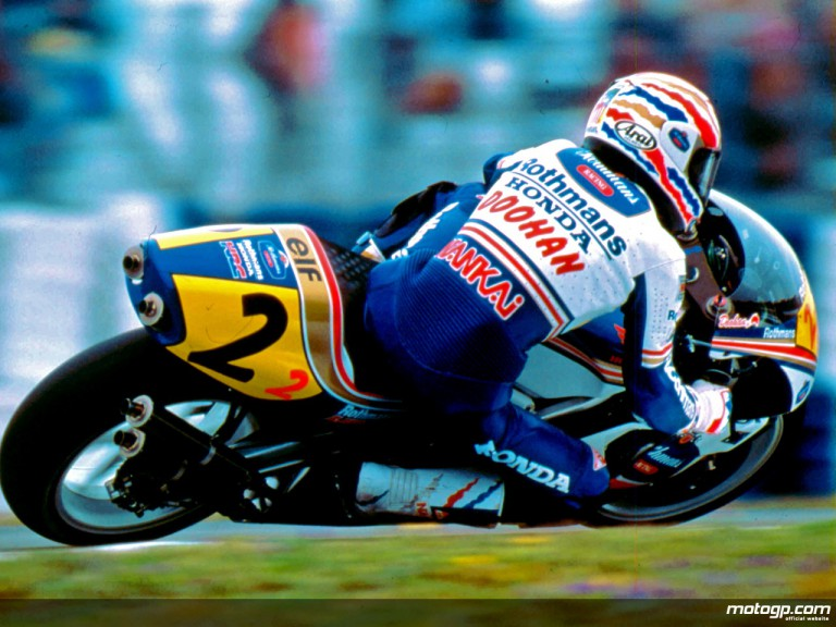 MotoGP Legend Mick Doohan in action (1993)