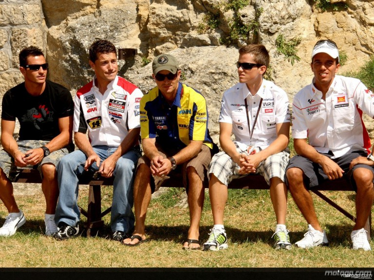 MotoGP faces visit the Cava dei Ballestrieri in San Marino