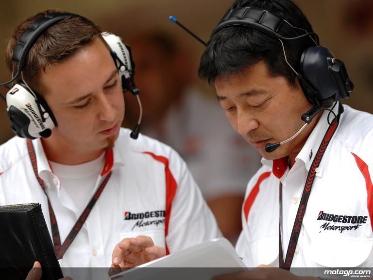Bridgestone Klaus Nohles and Hiroshi Yamada