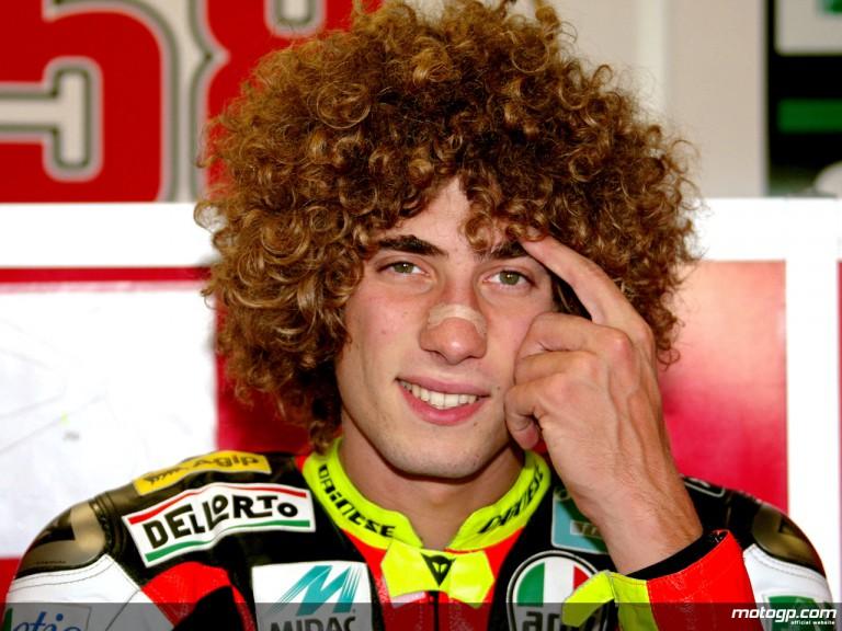Metis Gilera rider Marco Simoncelli (250cc)