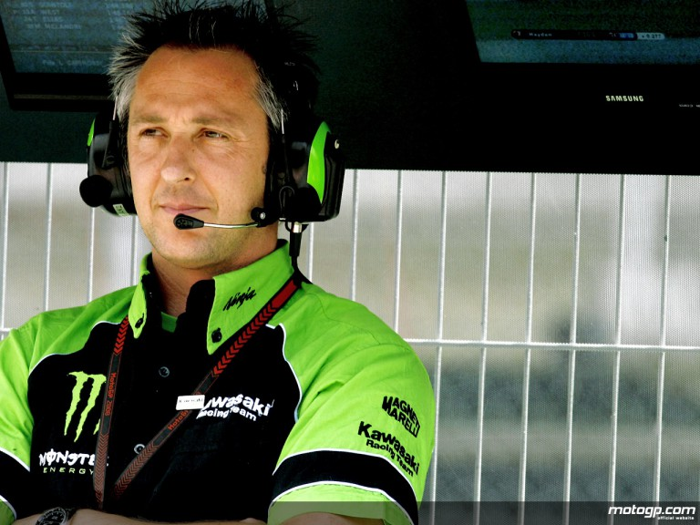 Kawasaki Racing competition manager Michael Bartholemy
