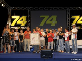 MotoGP riders gather in Misano to pay tribute to Daijiro Kato