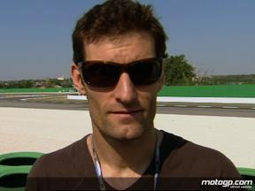 Formula 1 driver Mark Webber on MotoGP affinity
