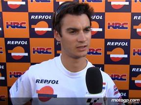 Dani Pedrosa eager to get back on the pace
