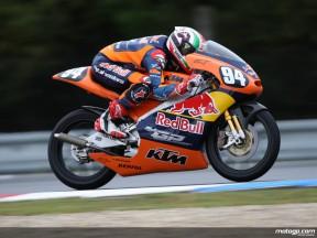 Red Bull MotoGP Academy rider Jonas Folger