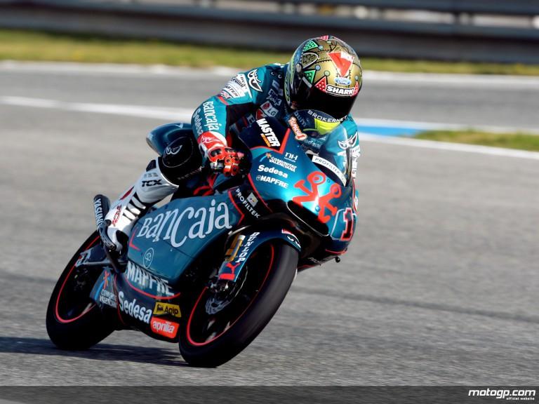 Gabor Talmacsi in action (125cc)