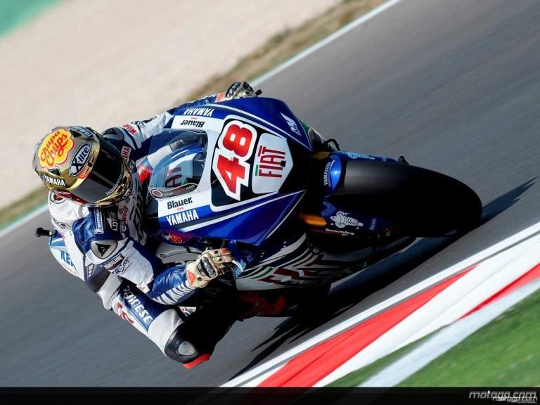 Jorge Lorenzo in action in Misano (MotoGP)