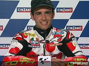 Hector Barbera interview after QP2 in Misano
