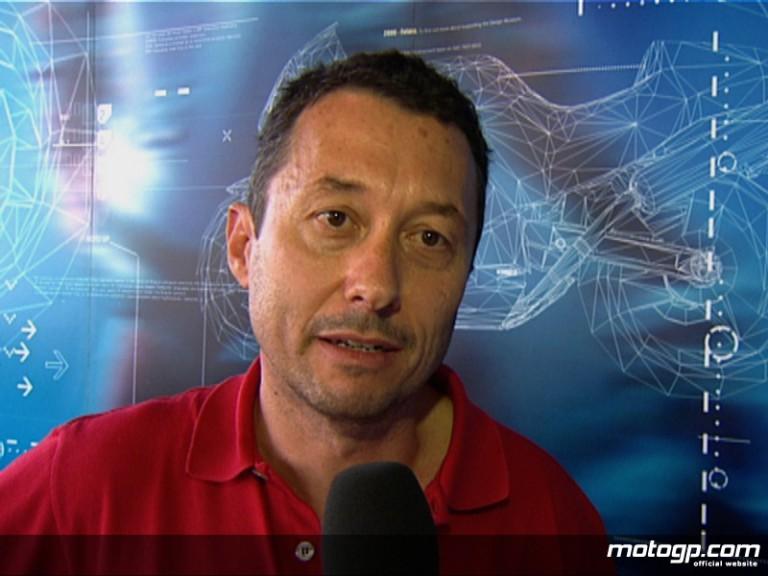 Former Aprilia rider Loris Reggiani