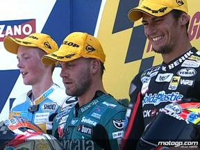 Misano 2008 - 125 Race Highlights