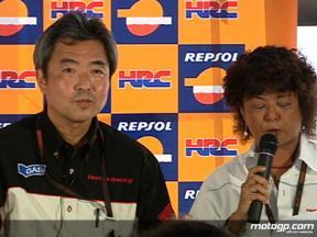 HRC Kosuke Yasutake explains Bridgestone switch