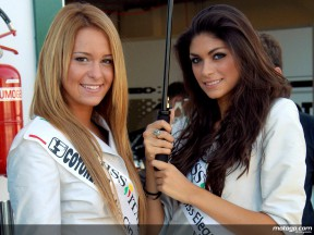 Paddock Girls at Misano