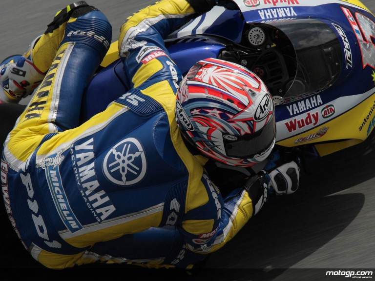 Tech 3 Yamaha´s Colin Edwards