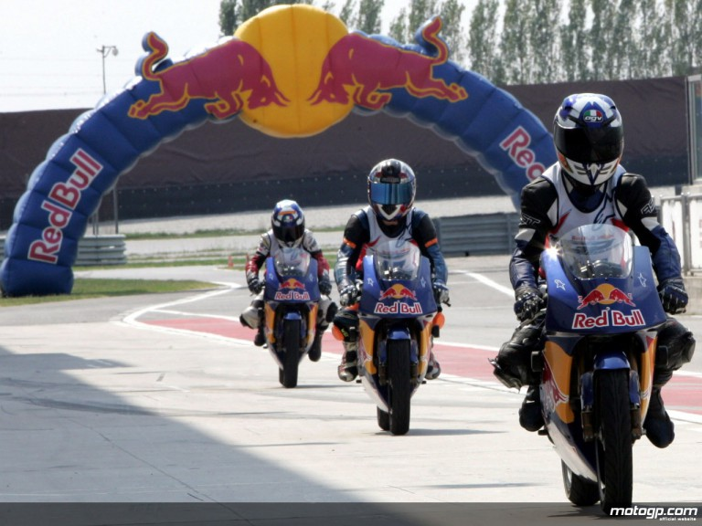 Red Bull MotoGP Rookies Cup selection event at the Adria circuit