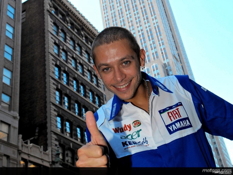 Valentino Rossi enjoys New York City visit on the eve of the Red Bull Indianapolis Grand Prix