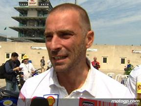 Suppo comments on Ducati 2009 plans