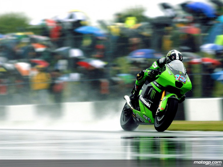 Anthony West in action (MotoGP)