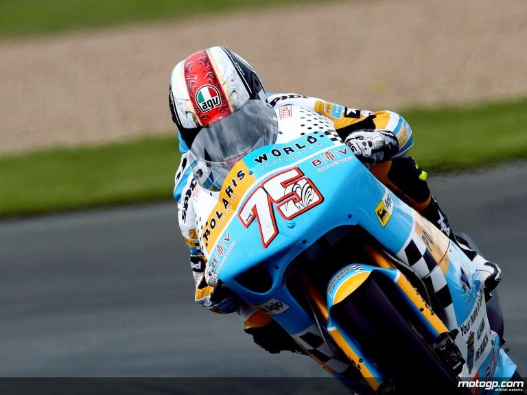 Mattia Pasini in action (250cc)