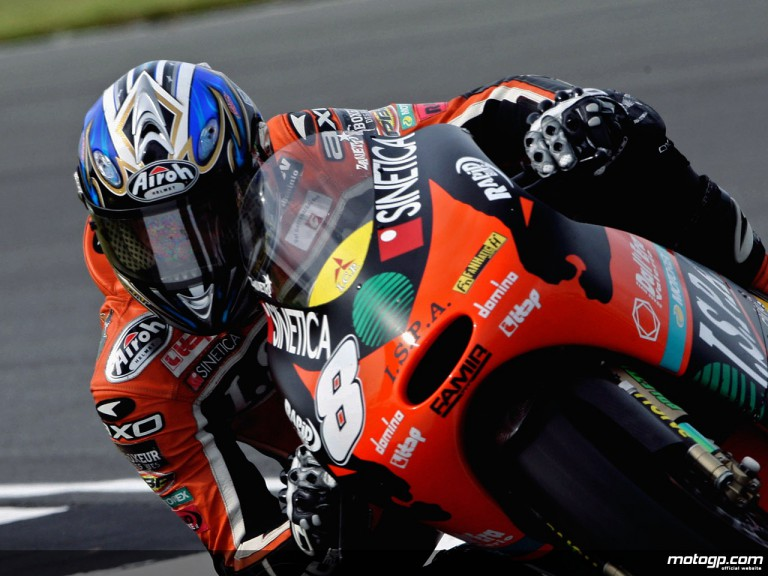 Lorenzo Zanetti in action (125cc)