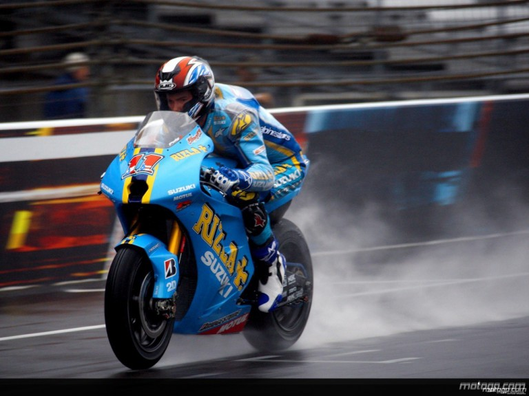 Ben Spies in action during free practice at Indianapolis