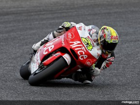 Toni Elias in action (MotoGP)