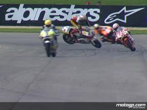 Thomas LUTHI crash during FP2