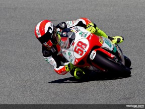 Marco Simoncelli in action (250cc)