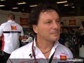 Fausto Gresini on negociations with Toni Elias
