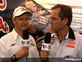 Kevin Schwantz and Peter Clifford preview the Red Bull Riders Cup