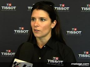 motogp.com meet Danica Patrick at the Indianapolis Motor Speedway
