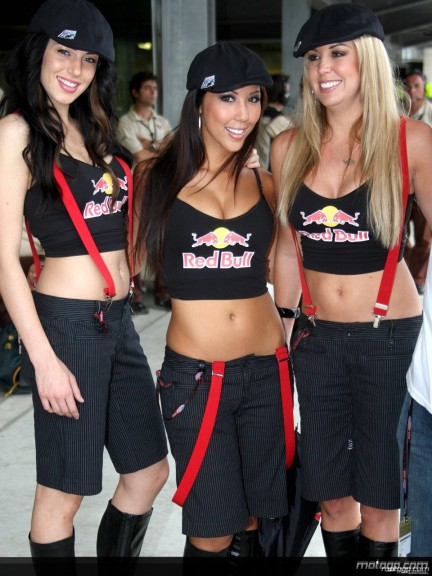 Red Bull Paddock Girls at the Indianapolis Motor Speedway -1