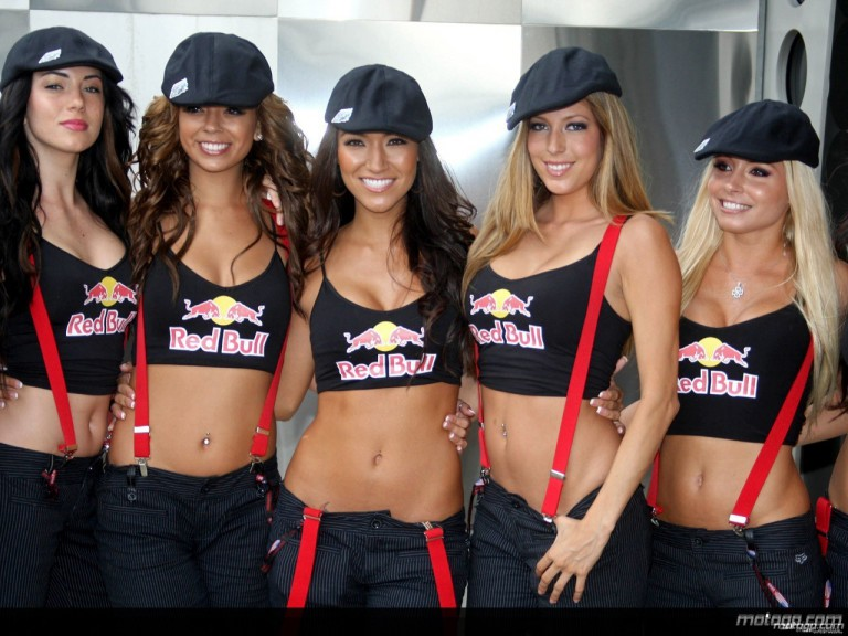 Red Bull Paddock Girls at the Indianapolis Motor Speedway