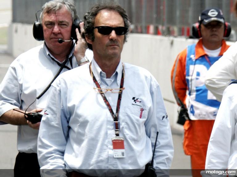 Former 500cc World Champion Franco Uncini