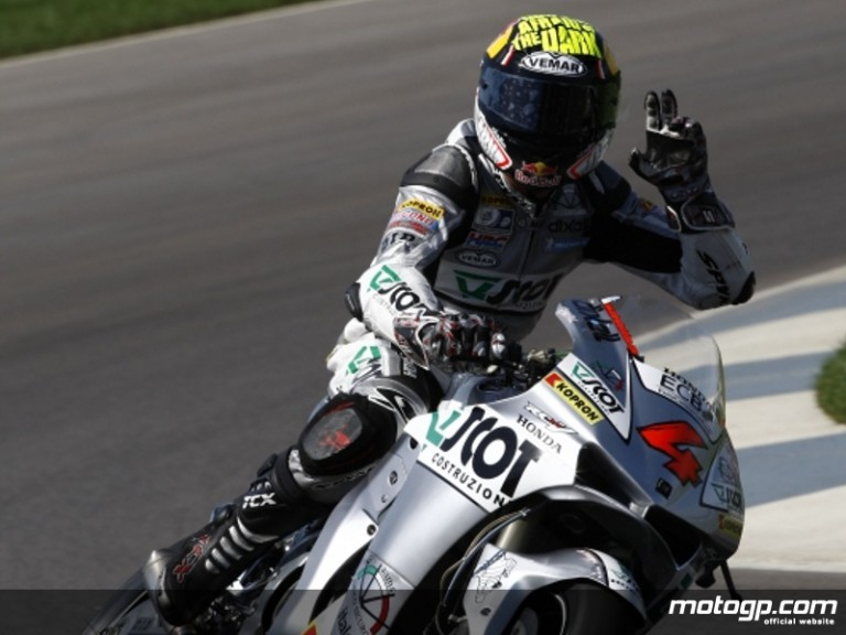 JiR Team Scot´s Andrea Dovizioso at Indianapolis