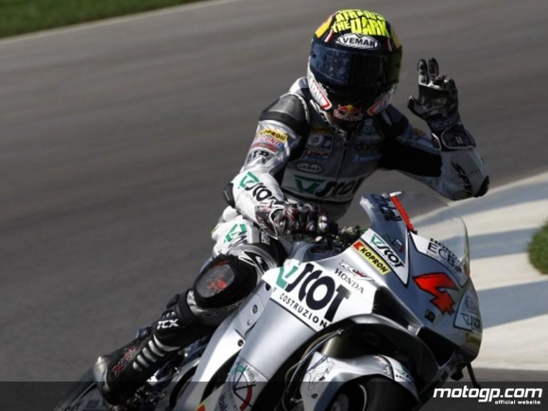 JiR Team Scot´s Andrea Dovizioso at Indianapolis