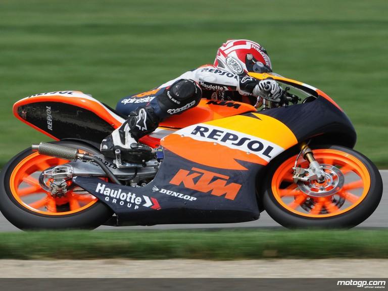 Repsol KTM 125cc rookie Marc Marquez