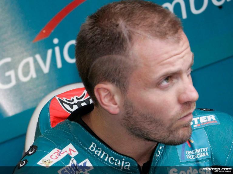 125cc reigning World Champion Gabor Talmacsi