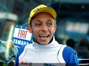 Fiat Yamaha rider Valentino Rossi