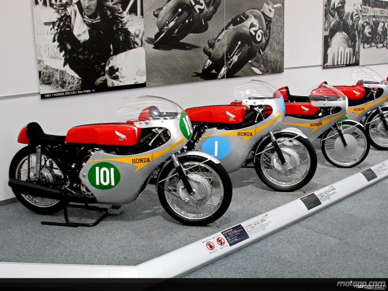 1960´s RCs machines at the Honda Collection Hall