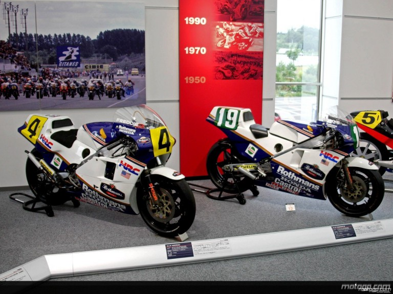 Freddie Spencer´s 1985 NSR500 and RS250R-W