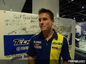 Toseland visits YMC ahead of the Japanese Grand Prix