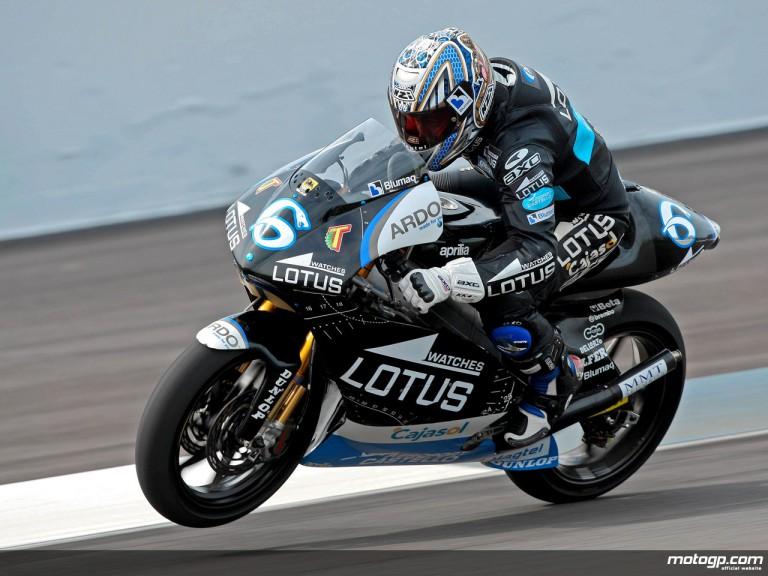 Alex Debon in action (250cc)