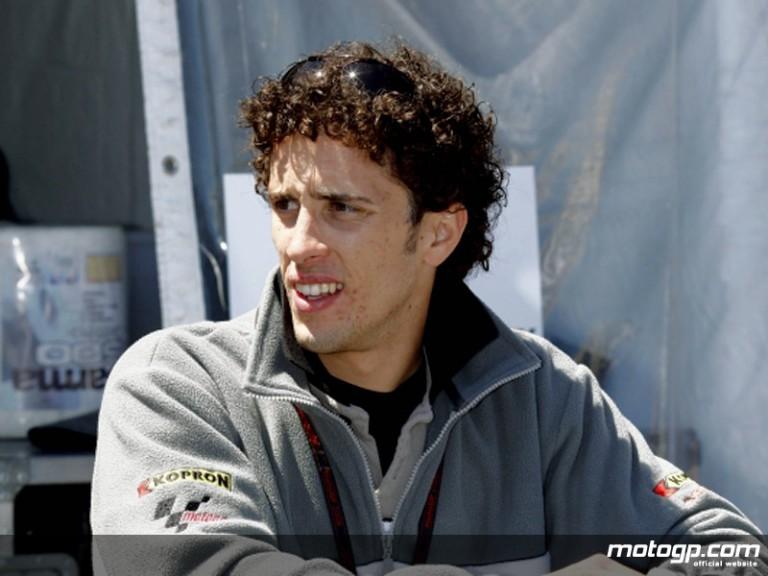 Italian rookie Andrea Dovizioso