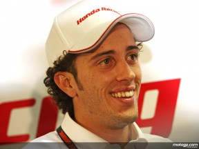 Italian MotoGP rookie Andrea Dovizioso